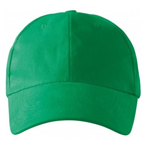 6-panelová šiltovka, trávová zelená