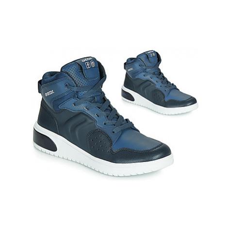 Geox J XLED BOY Modrá