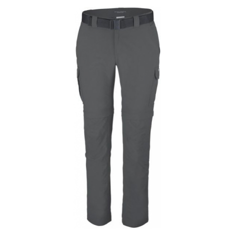 Columbia SILVER RIDGE II CONVERTIBLE PANT tmavo sivá - Pánske outdoorové nohavice