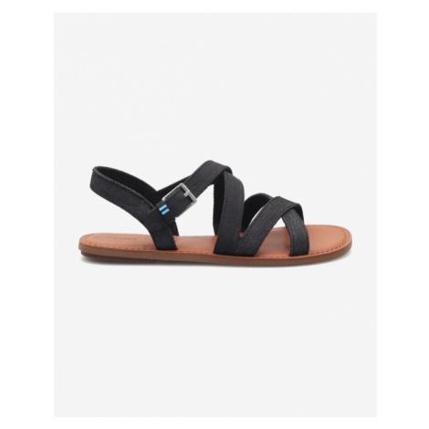 TOMS Sicily Sandále Čierna