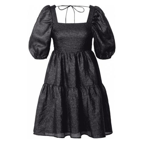 Gina Tricot Šaty 'Duva'  čierna