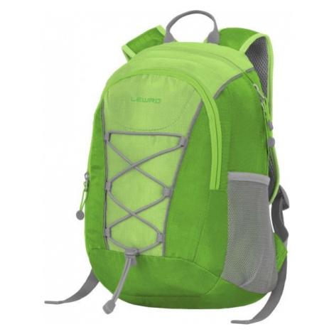 Lewro DINO 12 zelená - Viacúčelový detský batoh