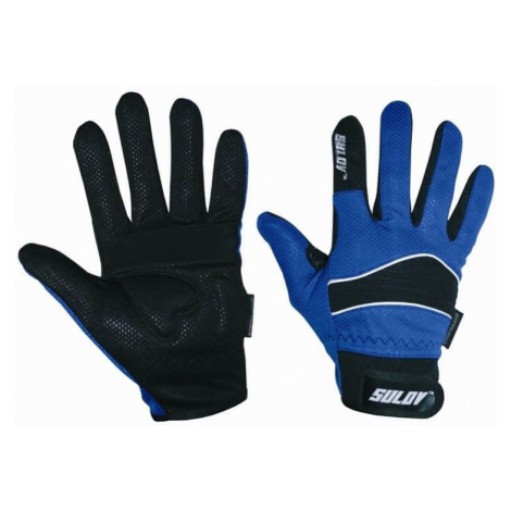 Zimní rukavice SULOV pro běžky i cyklo, modré