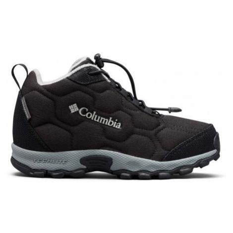 Columbia CHILDRENS FIRECAMP MID 2 WP čierna - Detská treková obuv