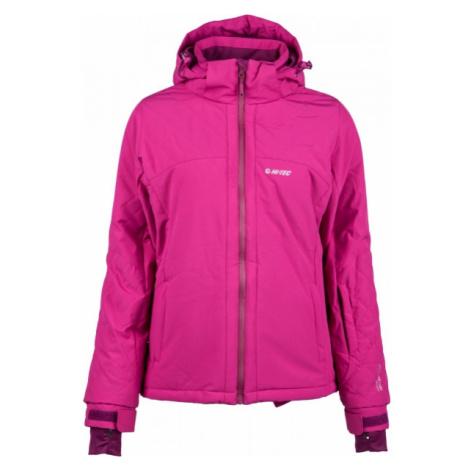 Hi-Tec LADY AZALEA ružová - Dámska lyžiarska bunda