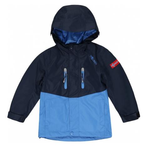 TROLLKIDS Outdoorová bunda 'Nusfjord'  námornícka modrá / dymovo modrá