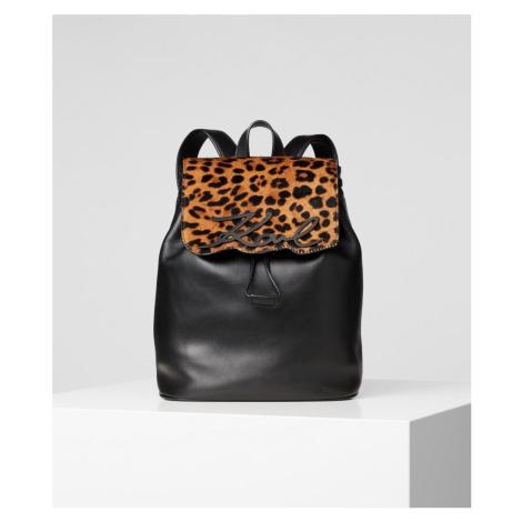 Batoh Karl Lagerfeld K/Signature Leopard Backpack