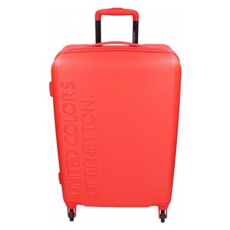 Cestovný kufor United Colors of Benetton Aura L - červená