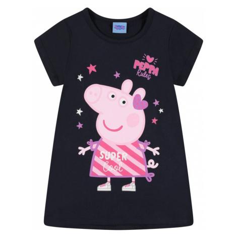 Peppa Pig Tričko  námornícka modrá / ružová / svetlofialová / ružová