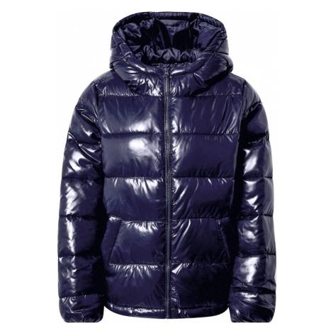 UNITED COLORS OF BENETTON Zimná bunda  tmavomodrá