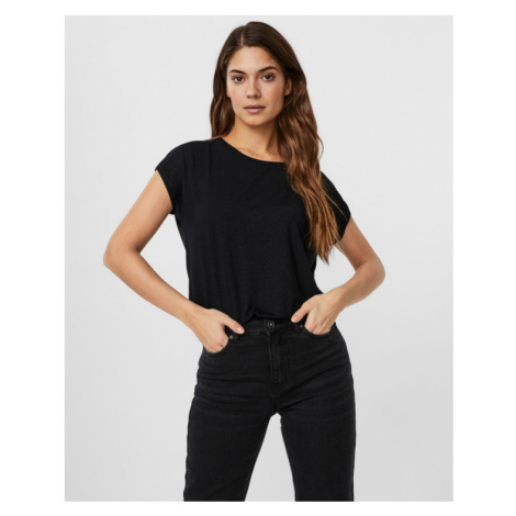 Vero Moda Lava Tričko Čierna