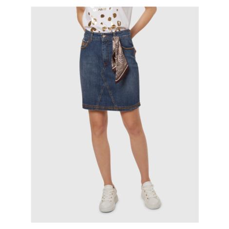 Sukňa La Martina Woman Denim Skirt Blue Denim S