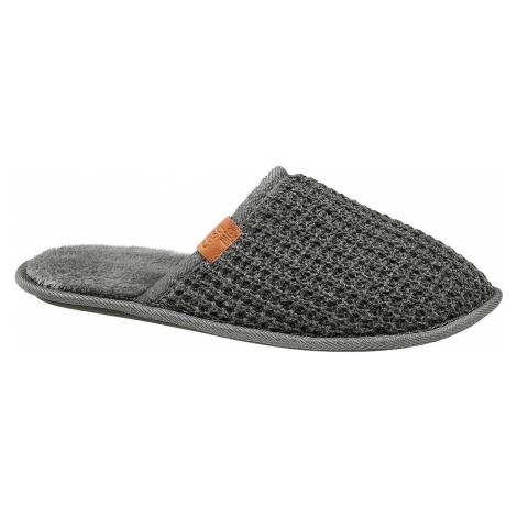 Casa mia - Sivé papuče Casa mia