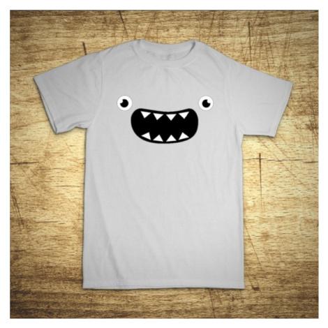 Detské tričko s motívom Monster Face