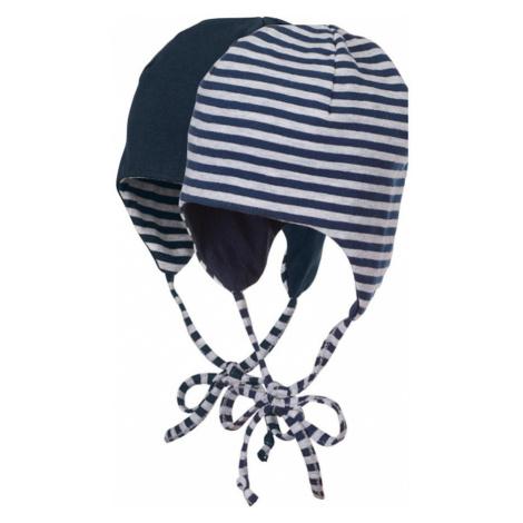 STERNTALER Čiapky  biela / námornícka modrá
