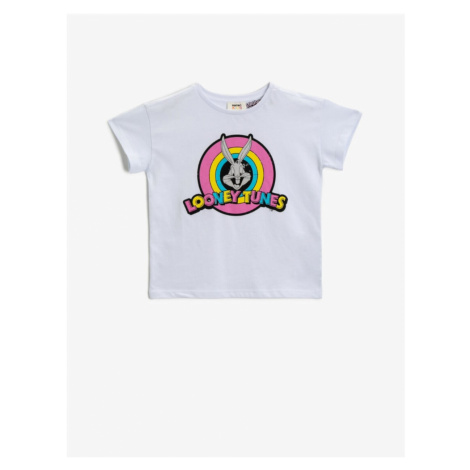 Koton Bugs Bunny Tshirt Short Sleeve Cotton Licensed Printed