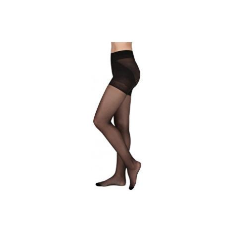 Evona Zoštíhľujúci pančuchové nohavice LARA čierne 176-108
