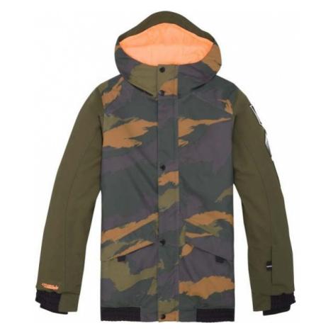 O'Neill PB DECODE-BOMBER JACKET šedá - Chlapčenská lyžiarska/snowboardová bunda