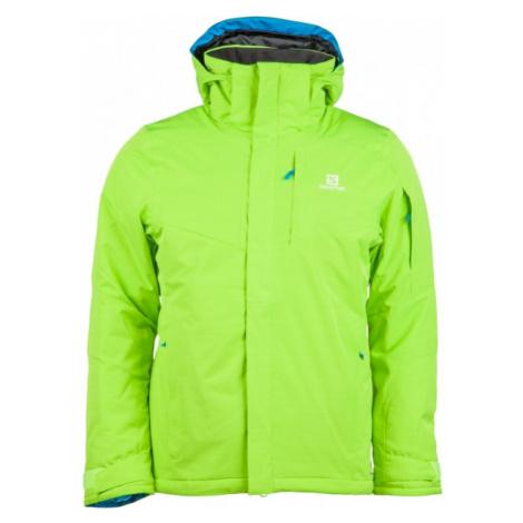Salomon STORMSPOTTER JKT M zelená - Pánska zimná bunda