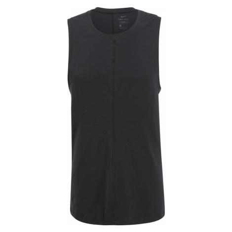 NIKE Funkčné tričko  čierna