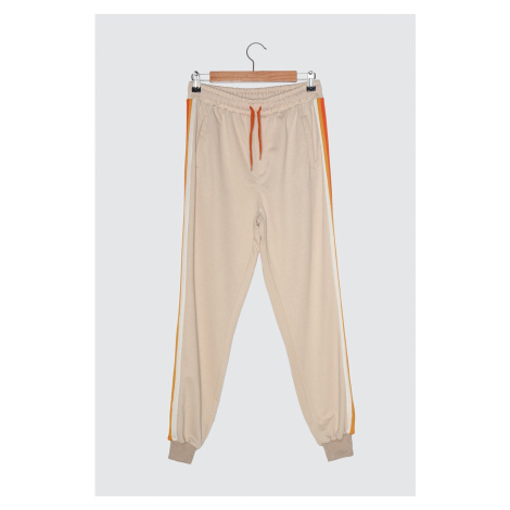 Trendyol Beige Men's Tracksuit bottom