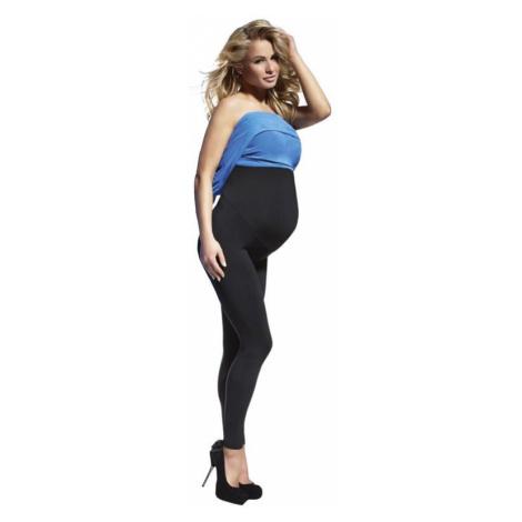 Tehotenské legíny Anabel 200 DEN čierne Bas Bleu