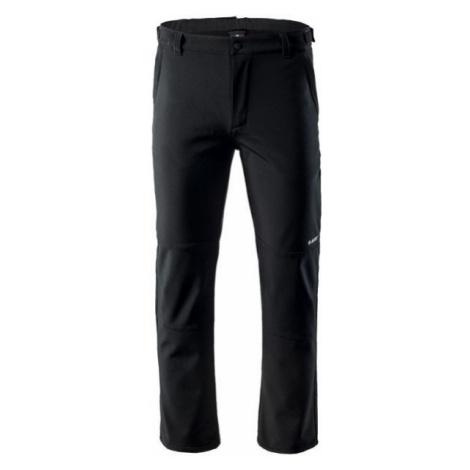 Hi-Tec CABANO čierna - Pánske softshellové nohavice