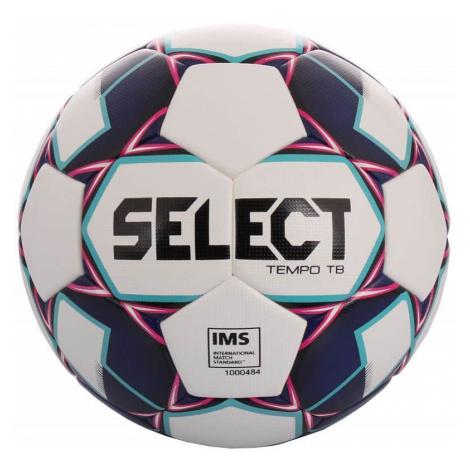 FB Tempo TB 2019 fotbalový míč barva: bílá-fialová;velikost míče: č. 5 Select