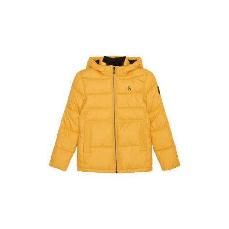 Calvin Klein Jeans Vatovaná bunda Essential Puffer IB0IB00557 Žltá Regular Fit