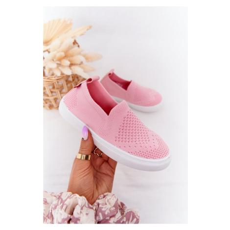 Children's Slip-On Sneakers Big Star HH374103 Pink