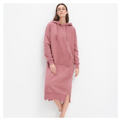 Mohito - Teplákové šaty Eco Aware - Ružová