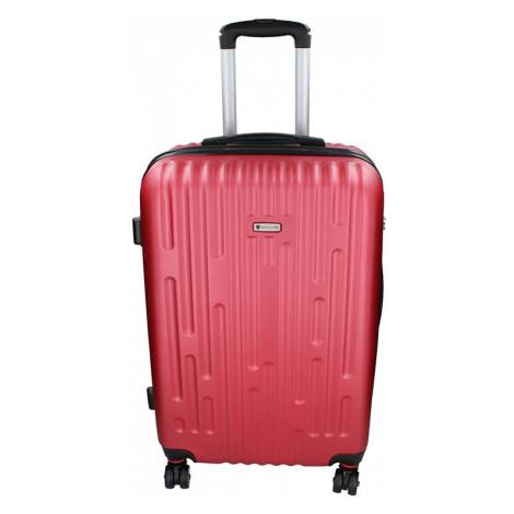 Cestovný kufor Airtex Worldline Kuga L - tmavo červená
