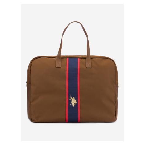 Patterson Cestovní taška U.S. Polo Assn Hnedá