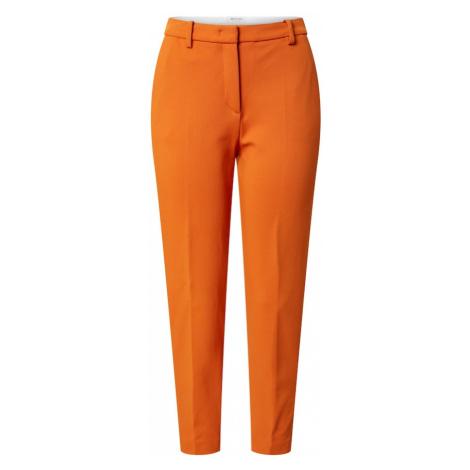 Rich & Royal Nohavice s pukmi  oranžová