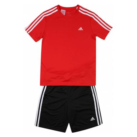 ADIDAS PERFORMANCE Športový úbor  červená / biela / čierna