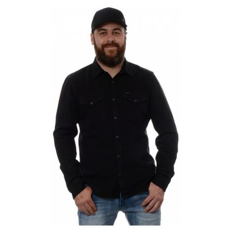 Košeľa Lee Western pánska čierna