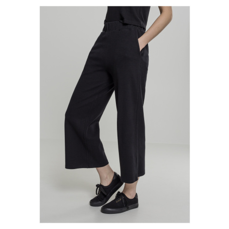 Dámske nohavice URBAN CLASSICS Ladies Culotte black