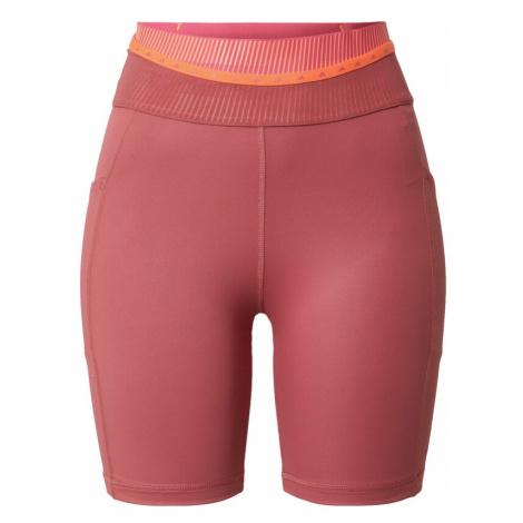 ADIDAS PERFORMANCE Športové nohavice  tmavoružová