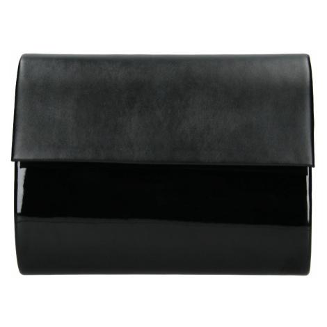 Elegantní listová kabelka Melova - čierna Delami