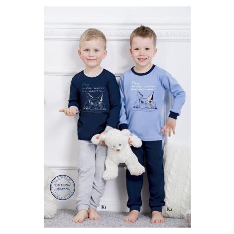 Chlapčenské pyžamo 859 Olek dark blue Taro