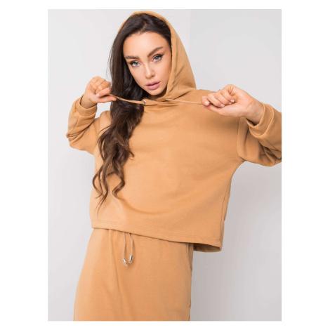 RUE PARIS Camel cotton set