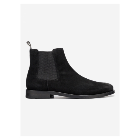 Max Kotníková obuv Gant Čierna