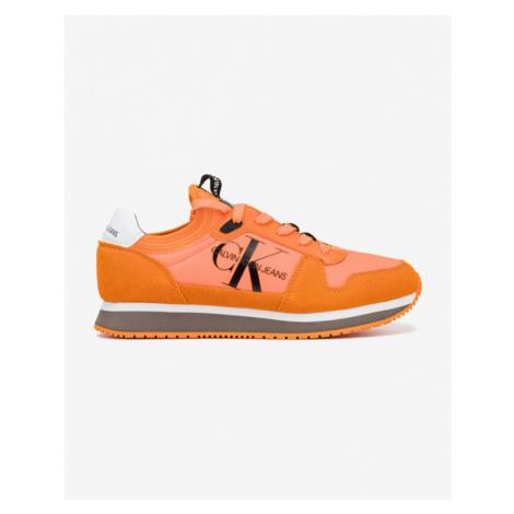 Calvin Klein Tenisky Oranžová