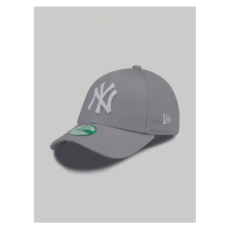 New York Yankees MLB 9Forty Youth Kšiltovka dětská New Era Šedá