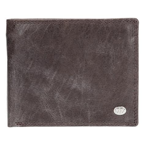 Pánska kožená peňaženka DD Anekta Robin - hnedá