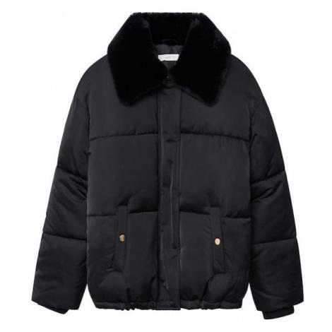 MANGO KIDS Zimná bunda 'Julieta'  čierna