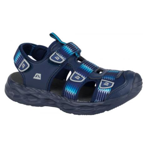 ALPINE PRO RICHO modrá - Detské sandále