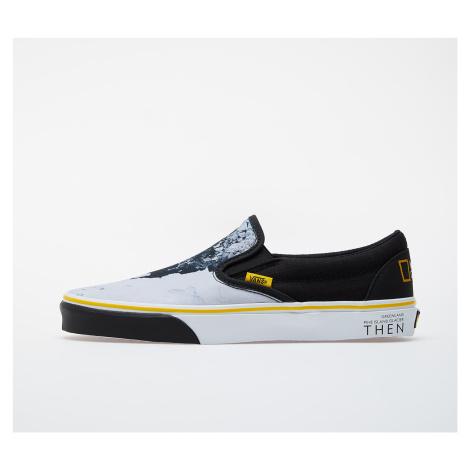 Vans Classic Slip-On (National Geographic) Black/ White-Yellow