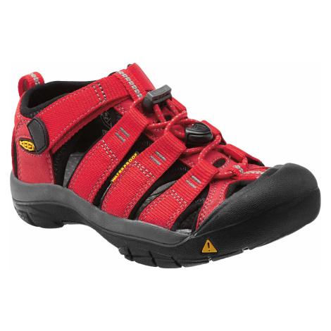 Detské sandále Keen Newport H2 Jr ribbon red/gargoyle