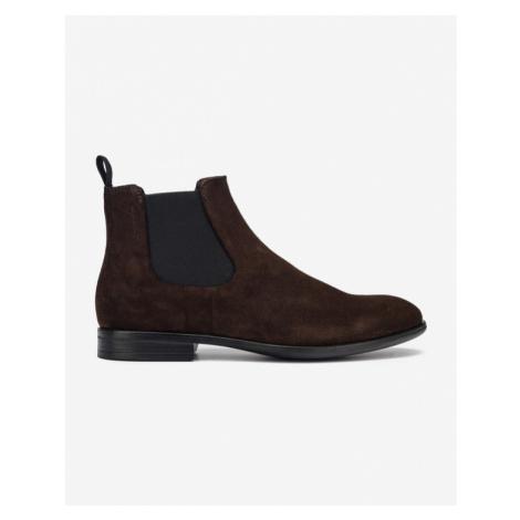 Hnedé pánske chelsea boots